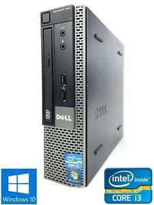Dell Optiplex 790 USFF - 250GB HDD, Intel Core i3-2120, 4GB RAM - Win 10 Pro