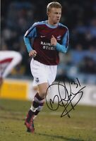 Mark Duffy Hand Signed 12x8 Photo - Scunthorpe United - Football Autograph.
