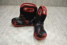 **Bogs Dino Baby 72165I-009 Rain Boots, Toddler Boy's Size 6, Red NEW
