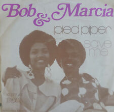 "7"" 1971 reggae RARE VG +++! Bob Andy & Marcia Griffiths: Pied Piper"