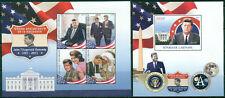 John Fitzgerald Kennedy JFK Werner von Braun NASA Apollo Gabon MNH stamps set