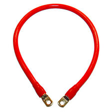 DUAL BATTERY CABLES AND SOLAR BANK CHARGE CABLES 60cm RED