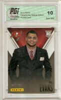 Mike Evans 2014 Panini Super Short Print Only 599 Made Rookie Card PGI 10