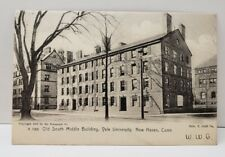 New Haven Connecticut Old South Middle Bldg Yale University 1905 Postcard B13