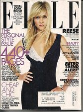 REESE WITHERSPOON ELLE 2007 MICHELLE RYAN STEVE CARELL DAVE GROHL SIENNA MILLER