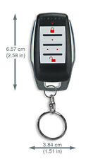 Paradox Security Alarm System-REM15 Remote Control with Backlit Buttons, 433Mhz