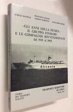 Gli anni della Fenice Gruppo Finmare compagnie sovvenzionate 1945 al 1985