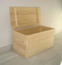 Cassapanca ''GELSOMINO'' in legno di abete 100x40x40 SP.1CM