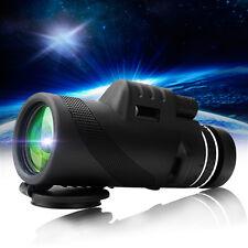 40X60 HD Day &Night Vision Dual Focus Optics Zoom Monocular Telescope Waterproof