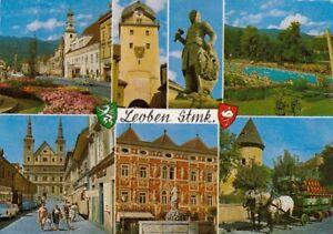 Leoben, Steiermark, Mehrbildkarte gl1989 G4969