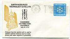 1972 ERTS Earth Resourches Technology Satellite Vandeneberg Air Force Base USA