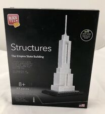 Block Tech Structures EMPIRE STATE BUILDING 83 Piece Architecture NEW