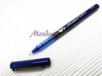 6 x Pilot Hi-Tecpoint V7 Needle Tip 0.7mm Fine Roller Ball Pen, BLUE