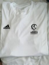 Official Adidas T Shirt For UEFA Womens U19 Championship XL