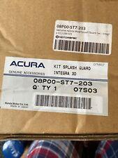 New Old Stock Acura HONDA INTEGRA TYPE R DC2 Mud Flaps Splash Guards Genuine