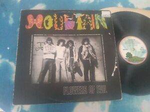 Mountain – Flowers Of Evil : Island Records – ILPS 9179, Vinyl LP PINK RIM