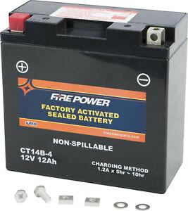 WPS Sealed Battery YT14B-4 CT14B-4