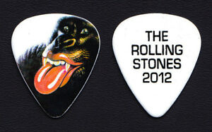 Rolling Stones Keith Richards Gorilla Guitar Pick - 2012-2013 50 & Counting Tour