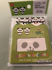 Daiso Index Tabs Panda Colours Coding Sticky Notes 180 Sheets Maker Cute