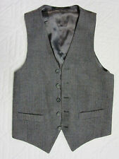 MENS  VEST Victorian Edwardian Sherlock Holmes Dickens gray lavender  size 36 S