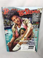 ROLLING STONE MAGAZINE #1274 BRUNO MARS Bob Dylan Leonard Cohen Lady Gaga Keys
