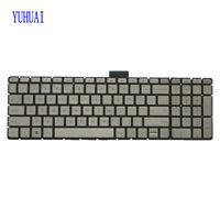 NEW For HP ENVY 15-AE 15-ae042nr M6-AE000 m6-ae151dx Keyboard US Backlit Silver