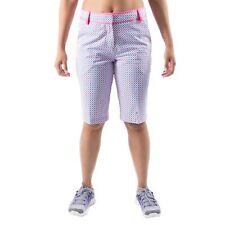 PUMA Golf Bermuda Shorts - Shocking Pink Blue - Women's size 4