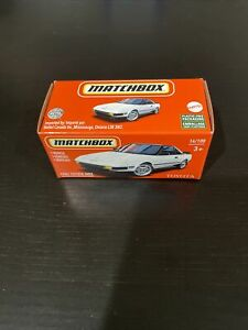 Matchbox 2021 Power Grabs 1984 Toyota MR2 White VHTF New In Box JDM
