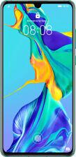 "Huawei P30 128GB+6GB RAM 6.1"" ITALIA NUOVO Dual Sim Smartphone Aurora Blue Blu"