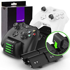 Fosmon Xbox One/One X/One S/Elite Quad PRO Controller Charger (Upgraded),...