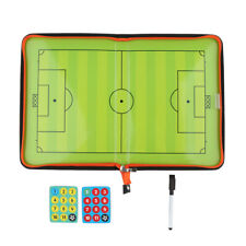 Football Tactics Coaching Board Soccer Strategy Training Clipboard Reliable