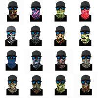 CAMO Face Balaclava Scarf Neck Fishing Shield Sun Gaiter Headwear Mask 16 Styles