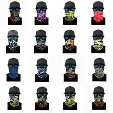Camo Face Balaclava Scarf Neck Fishing Shield Sun Gaiter Headwear Mask 16 Styles