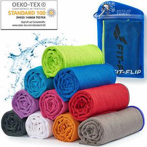 Kühlendes Handtuch Kühlhandtuch Cooling Towel Sporthandtuch von FIT-FLIP®