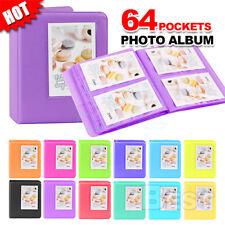 64 Pockets for Polaroid FujiFilm Instax Mini Album 7 7S 8 9 Camera Photo Film AU