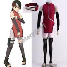 Boruto: Naruto Cosplay Costumes Movie Uchiha Sarada Cheongsam Cosplay Costume