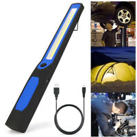 2in1 Rechargeable LED COB Camp Work Inspection Light Lamp Hand Torch Magnetic CH