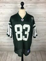 NEW YORK JETS NFL Jersey - Large - #83 MOSS - Reebok - Great Condition