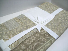 Pottery Barn Pauline Boyd Patchwork Multi Colors Hearth Hand Made Quilt New