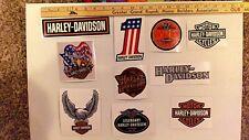 LOT 10 Harley Davidson stickers truck Bike Helmet tool box Free Ship