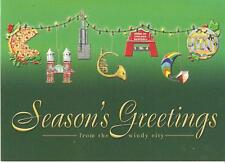 Greetings From Chicago 18 Christmas Cards and Envelopes Lpg Greetings Usa