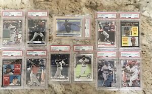 HOMEPLATE HotBox PSA 10-9 (1 in 3 is PSA 10), auto, 15 cards CHROME Tatis PSA 10