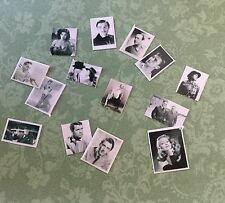 Segunda Guerra Mundial Casa De Muñecas Miniaturas REPRO 1/12th fotos hecho a mano Showbiz/gente famosa