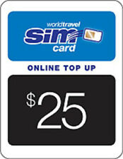 $25.00 Prepaid Top-Up - Online recharge