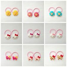 18pcs=9pair Baby Girls kids Hair Elastic Band accessories Hair rope Party Gift