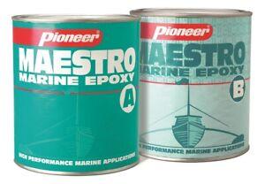 Maestro Marine Epoxy- High Performance Epoxy for Boats Yachts, Pontoons 2 liters