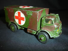 Old Vtg Dinky Toys Military Ambulance #626 Diecast Toy Truck Gt. Britain