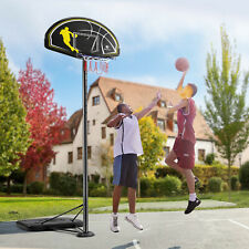 10Ft Adjustable Height Basketball Hoop Stand Backboard System Portable