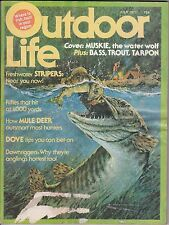 VINTAGE OUTDOOR LIFE MAGAZINE-JULY,1977