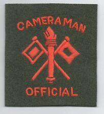 WW2 Official US Army Cameraman patch, replica